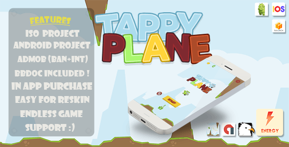 Tappy Plane - CodeCanyon Item for Sale