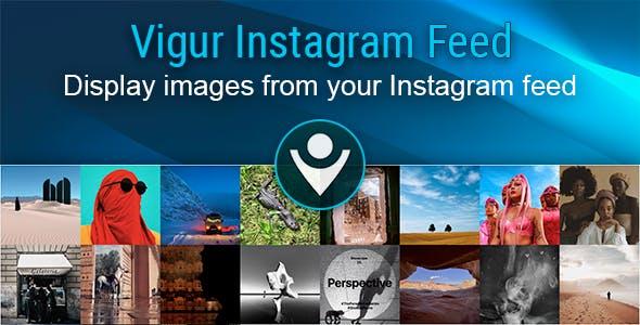 Vigur Instagram Feed