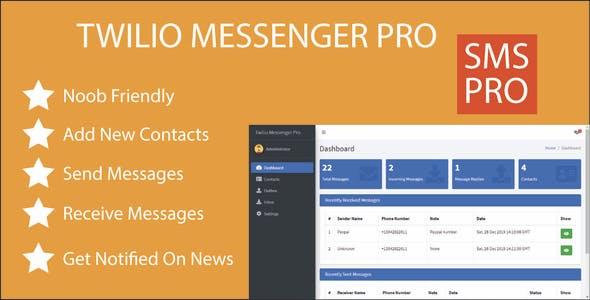 Twilio Messenger Pro - Easily Send & Receive SMS