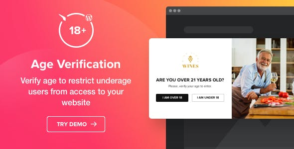 Age Verification for WordPress