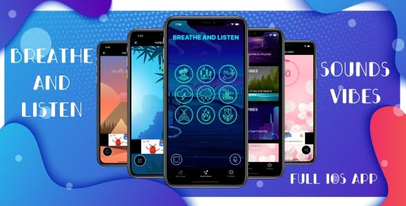 Sounds Vibes - Full iOS Application
