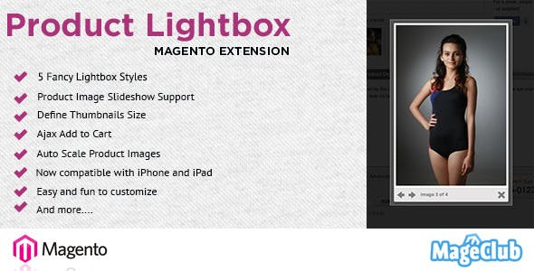Product Lightbox Image Gallery for Magento