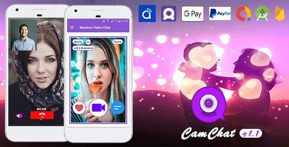 Cam Chat - Android Dating App with Voice/Video Calls - In-App Subscriptions  v1.1 - CodeCanyon Item for Sale