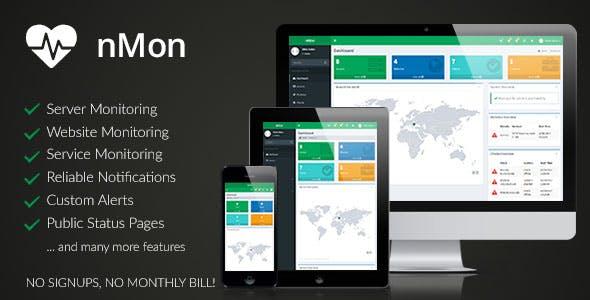 nMon - Website, Service & Server Monitoring