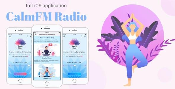 Calm FM Radio - Full iOS App