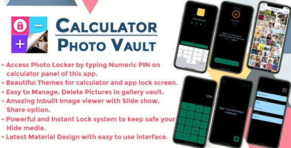 Gallery Lock Hide Photos IOS (Objective C) - CodeCanyon Item for Sale