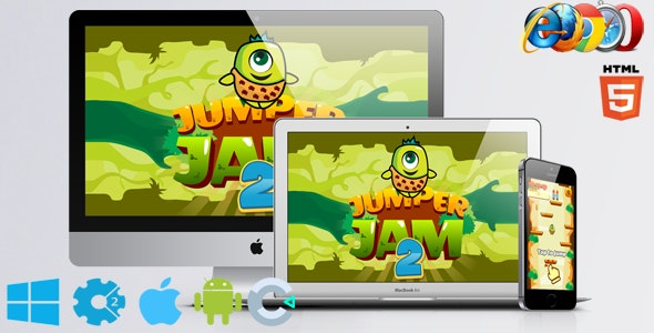 Jumper Jam 2 - CodeCanyon Item for Sale