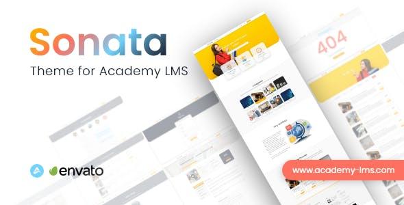 Sonata - Academy LMS Theme