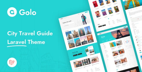 Golo - City Travel Guide Laravel Theme - CodeCanyon Item for Sale