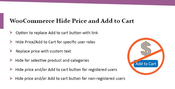 WooCommerce Hide Price & Add to Cart Button Plugin - Lite - CodeCanyon Item for Sale