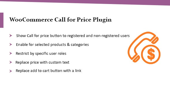 WooCommerce Call for Price Plugin – Call to Order