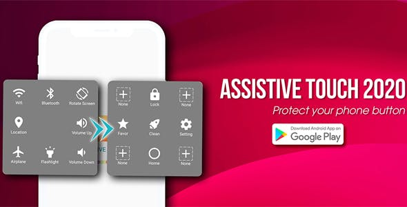 Assistive Touch - Easy Touch - Protect Home Button