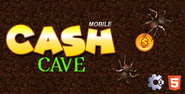 CashCave | HTML5 | CAPX | Full Game
