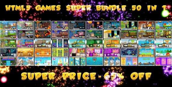 50 HTML5 GAMES!!! BEST BUNDLE №1 (Construct 3   Construct 2   Capx)