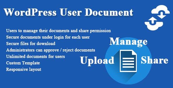 WordPress User Document