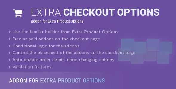Extra Checkout Options - addon for Extra Product Options plugin