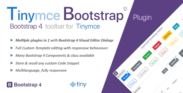 Tinymce Bootstrap Plugin - CodeCanyon Item for Sale