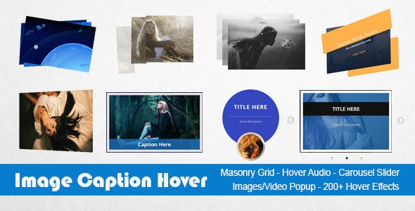 Image Caption Hover Pro WordPress Plugin
