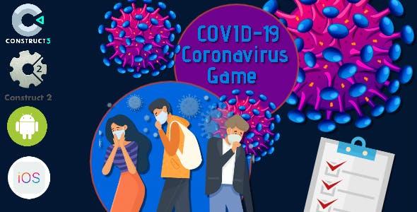 COVID-19 Coronavirus Construct 2 - Construct 3 CAPX Game