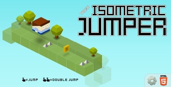 treze-isometricJumper - HTML5 Casual Game - CodeCanyon Item for Sale