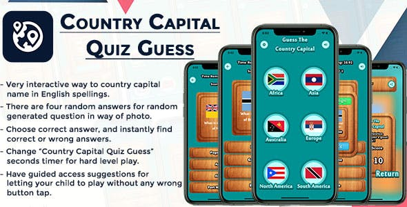 Country Capital Quiz Guess IOS (Swift)