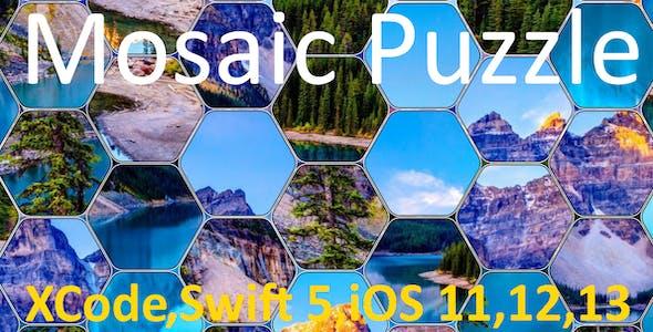 Mosaic Hexa Puzzle