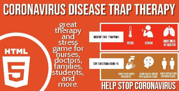 Coronavirus Disease Trap Therapy HTML5 Game - HTML5 Website