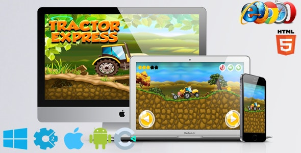 Tractor Express - CodeCanyon Item for Sale