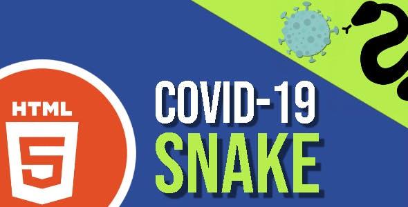COVID-19 Snake HTML5 Game - HTML5 Website
