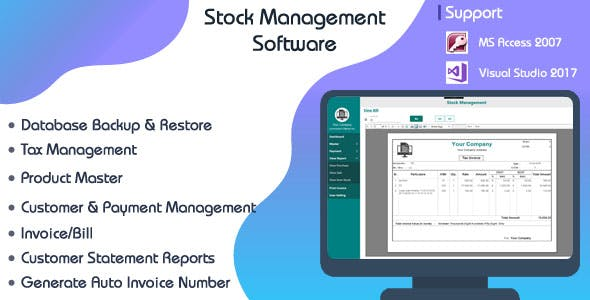 Store Management System-C# WPF-Ms Access
