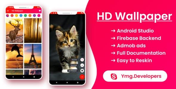 HD WallpaperX | HD Wallpaper App with Firebase Back-end