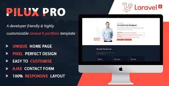 Pilux Pro - Creative Portfolio php script