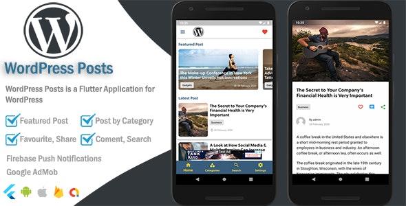 WordPress Mobile - Flutter