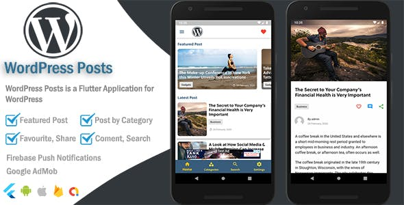 WordPress Mobile - Flutter