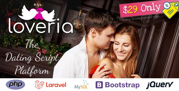 Loveria - The Ultimate & Awesome Laravel PHP Dating Platform | Script