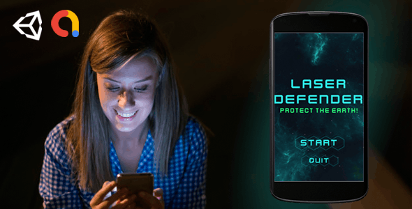 Laser Defender - Complete Unity Mobile Game
