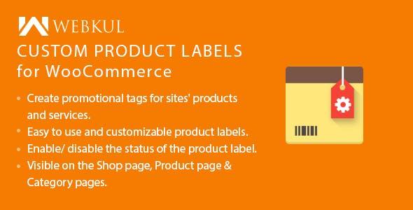 WordPress WooCommerce Custom Product Label
