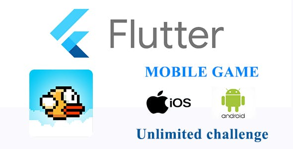 Flappy Bird Game IOS - Android with Unlimited challenge