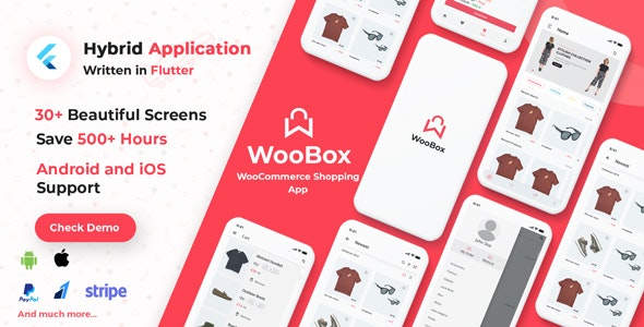 WooBox - WooCommerce Flutter E-commerce Full Mobile App - CodeCanyon Item for Sale