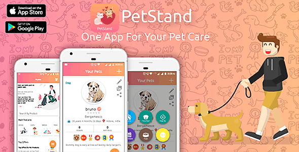 PetStand - iPhone(ios) Pet App For Pet Lovers
