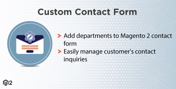 Magento 2 Custom Contact Form - CodeCanyon Item for Sale