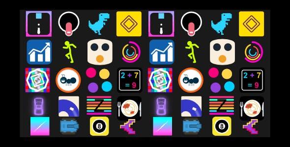 (20) Hyper-Casual Games | HTML5 GAME BUNDLE