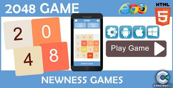 2048 NG - HTML5 Game (CAPX)
