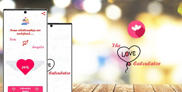 The Love Calculator With Facebook Ad