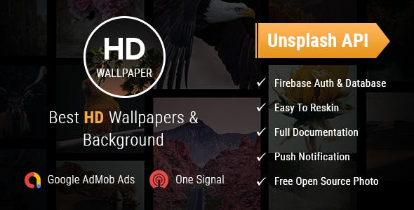 HD Wallpapers - Android App with Admob