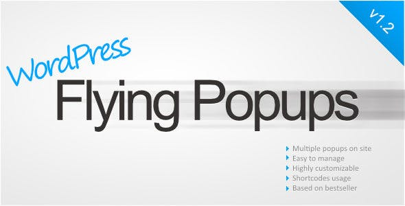 WordPress Flying Popups