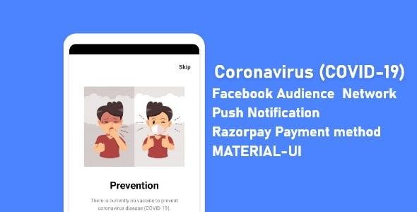 Coronavirus 2019 ( COVID - 19)