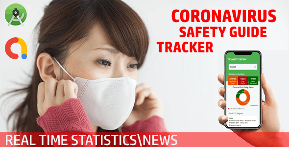 """CoronaVirus """"COVID-19"""" - Real Time Tracker, Safety Guide, Stats"""