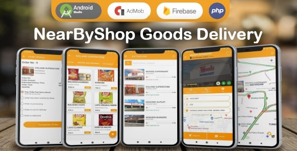 NearByShop- Customer can buy products from nearest store and get delivered in just 5 mins.. - CodeCanyon Item for Sale