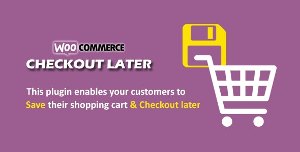 Woocommerce checkout Later - CodeCanyon Item for Sale